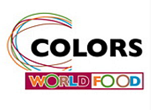 logo restaurant Colors World Food