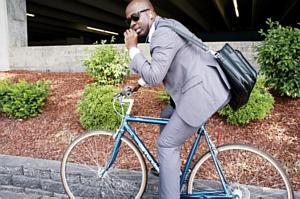 Woon-werkverkeer op de fiets