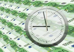 De tijd tikt voor de euro's